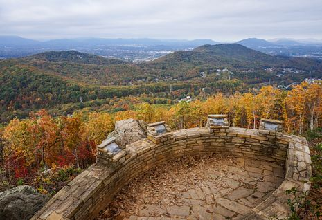 Roanoke Mountain Overlook